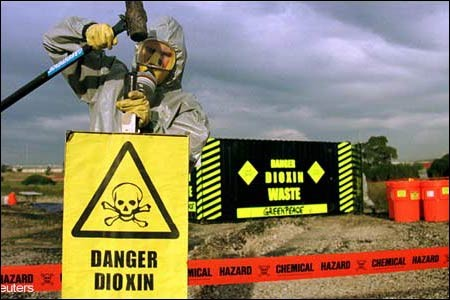 dioxin signage