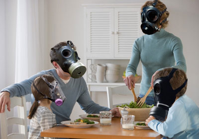Attic-indoor-air-pollution-family